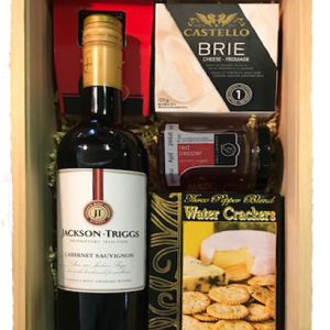 WINE CRATE RED